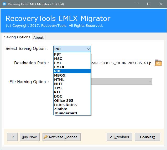 eml to pdf converter software