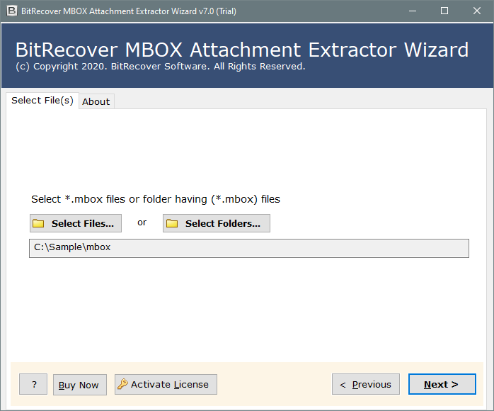 extract all attachments from mbox