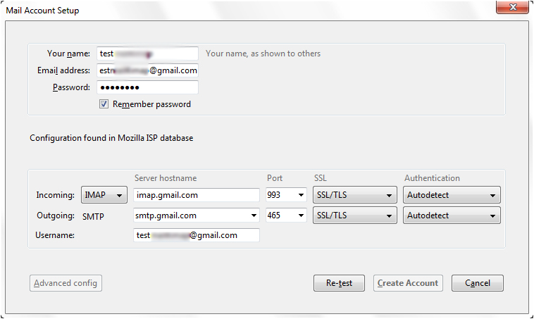 Configure Gmail to Thunderbird with POP3 & IMAP Settings - How to