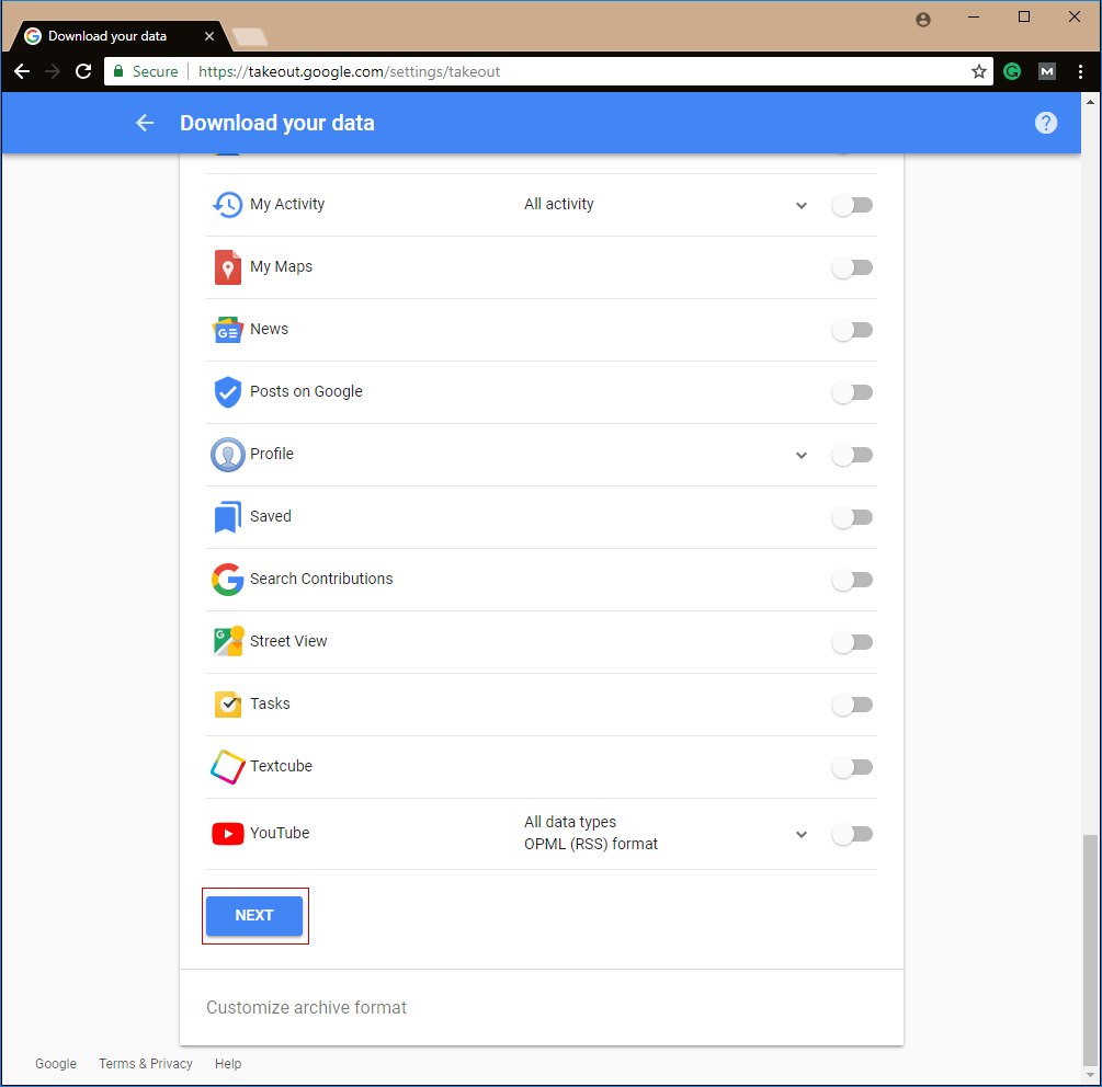 how to download pdf from google drive