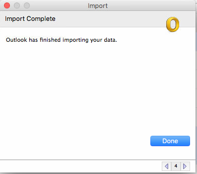 Import Outlook PST or OST files into Microsoft Outlook 2011