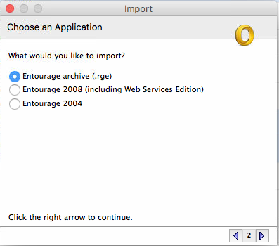 import rge option outlook for mac 2011