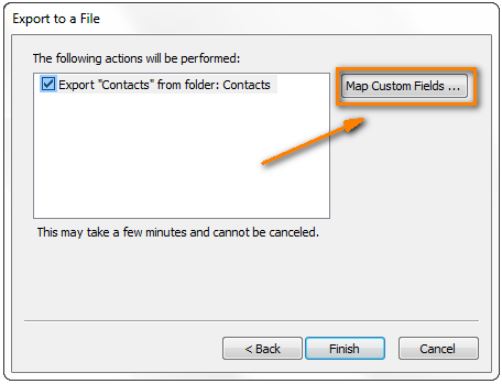outlook copy address book to excel