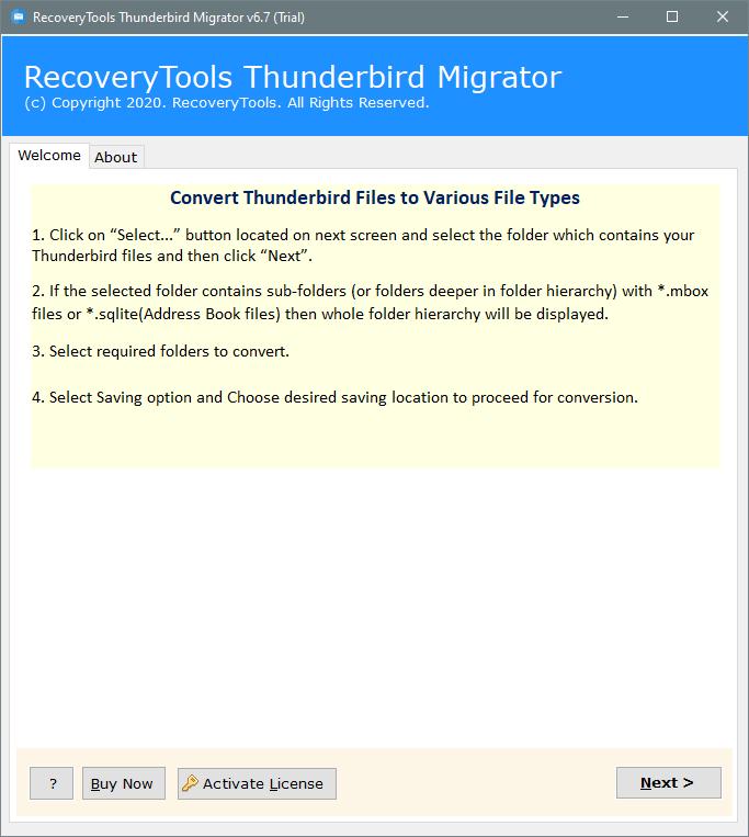 import thunderbird to gmail