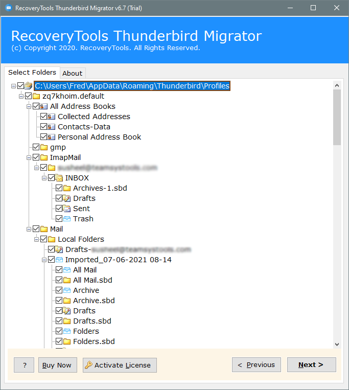 import mail from thunderbird to gmail