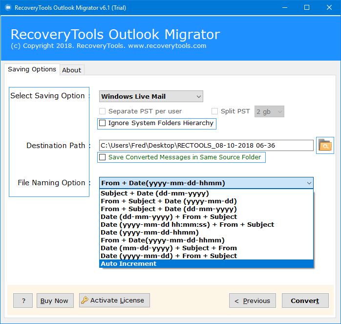 import ost to windows live mail