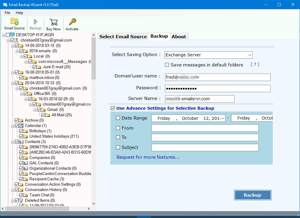 qq.com mail backup filters
