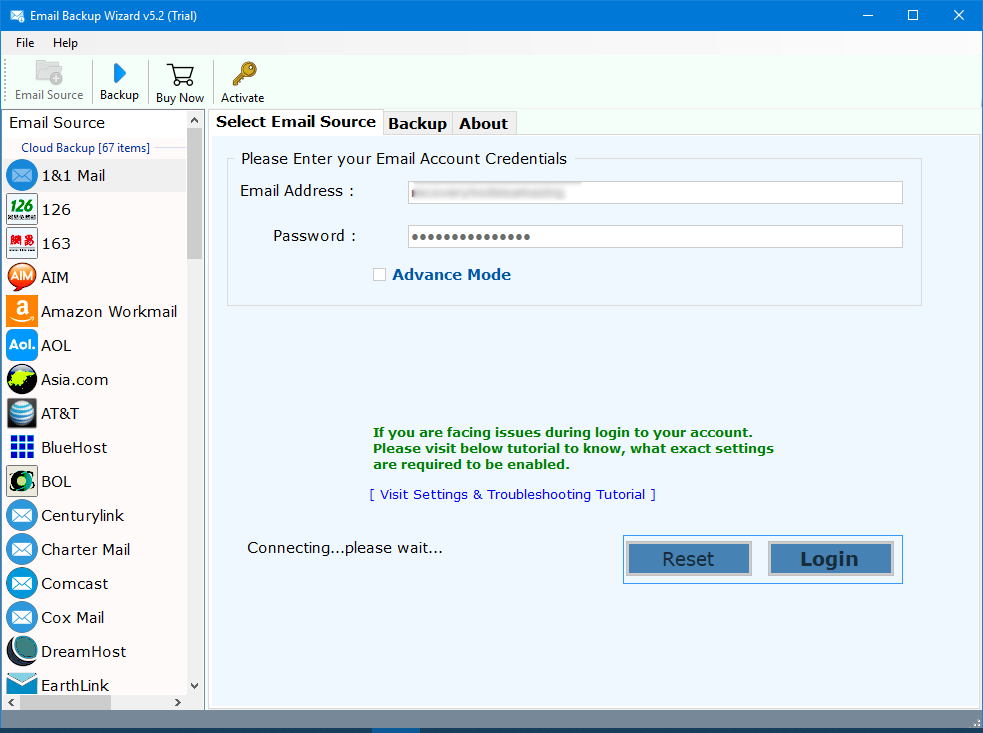 1 &1 Mail Backup Tool – How to Export Emails from 1and1 to Office