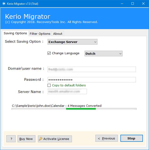 kerio to exchange migration tool