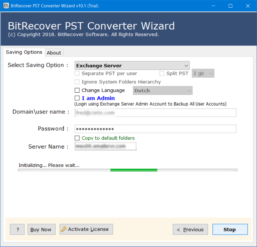 import multiple pst files into exchange 2010
