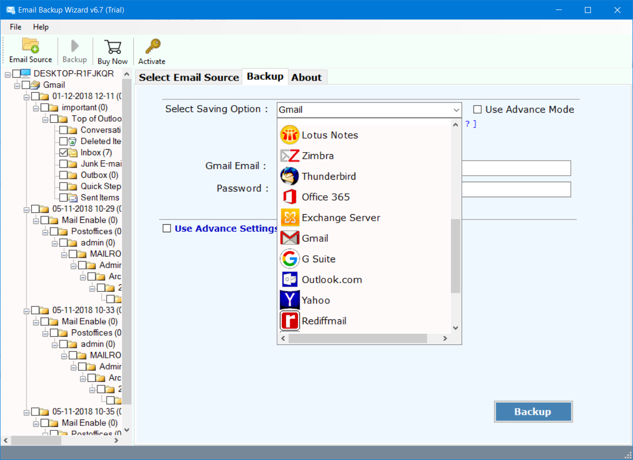 hotmail to gmail transfer