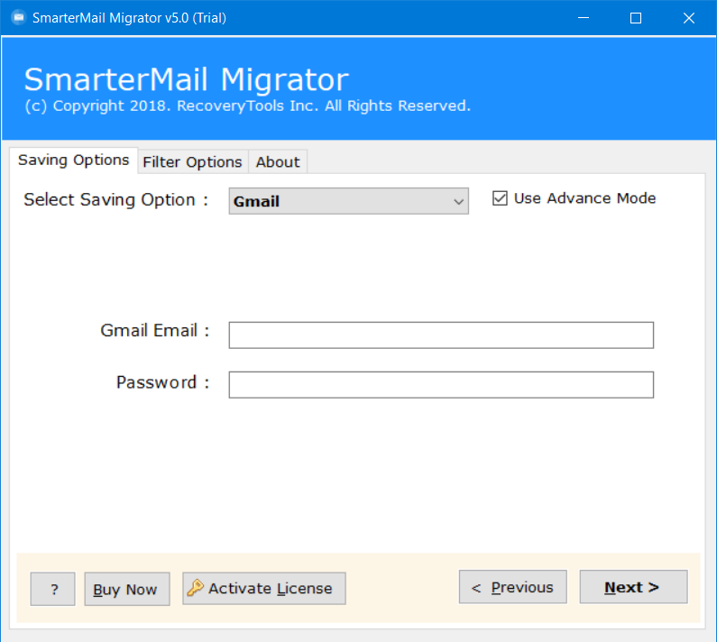 migrate smartermail to gmail