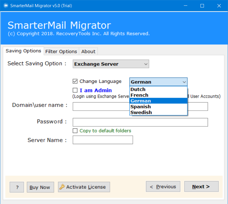 migrate smartermail to exchange