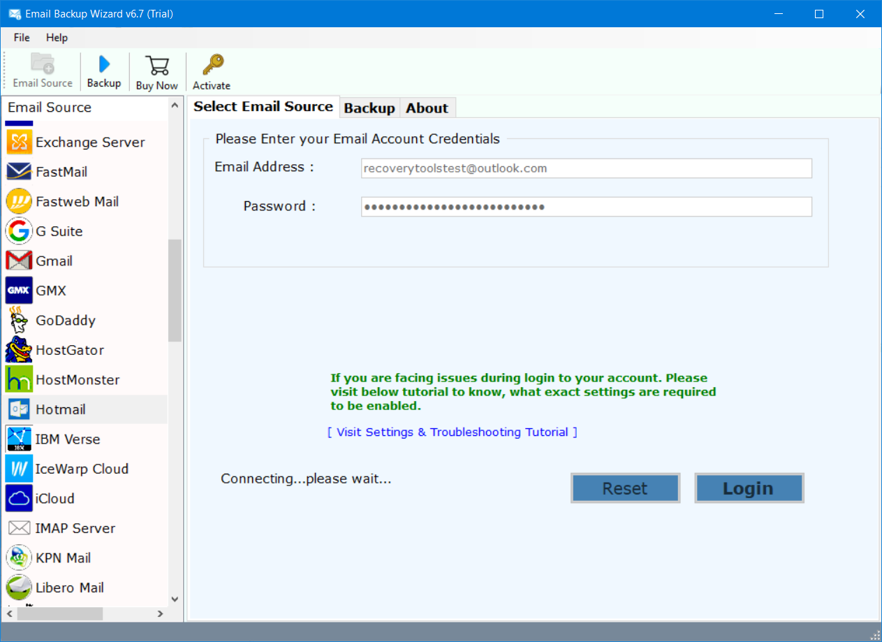move Hotmail to office 365