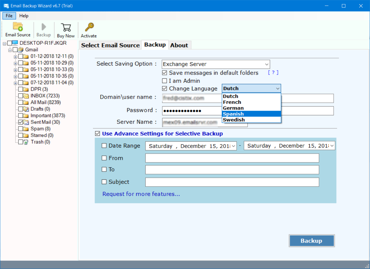 migrate hotmail to exchange