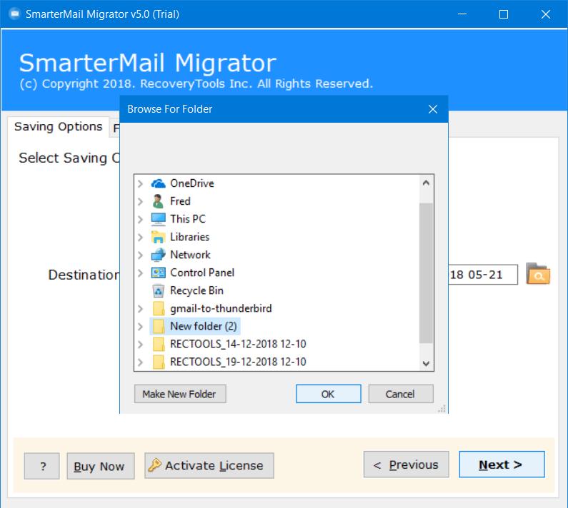 change smartermail to tgz file