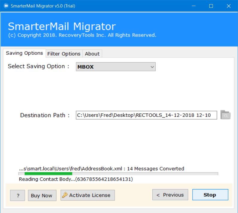 smartermail to netscape