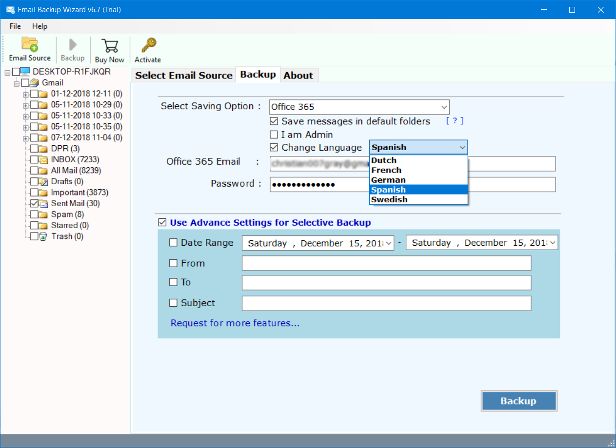 migrate email from Hotmail to office 365