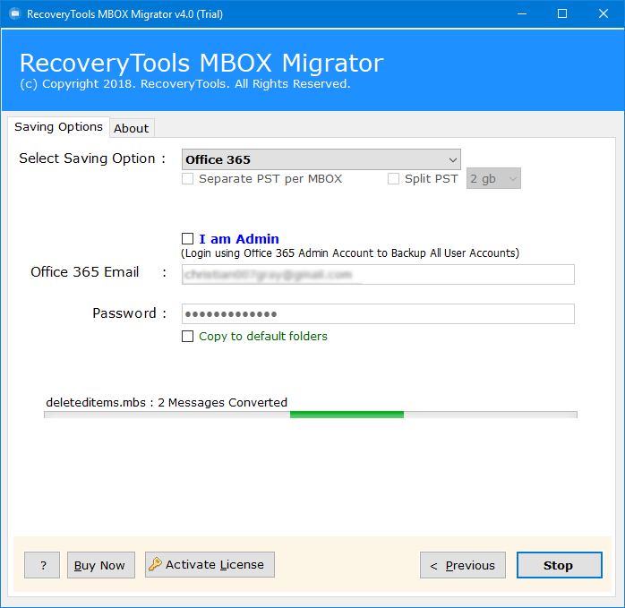 opera mail to o365 migration tool