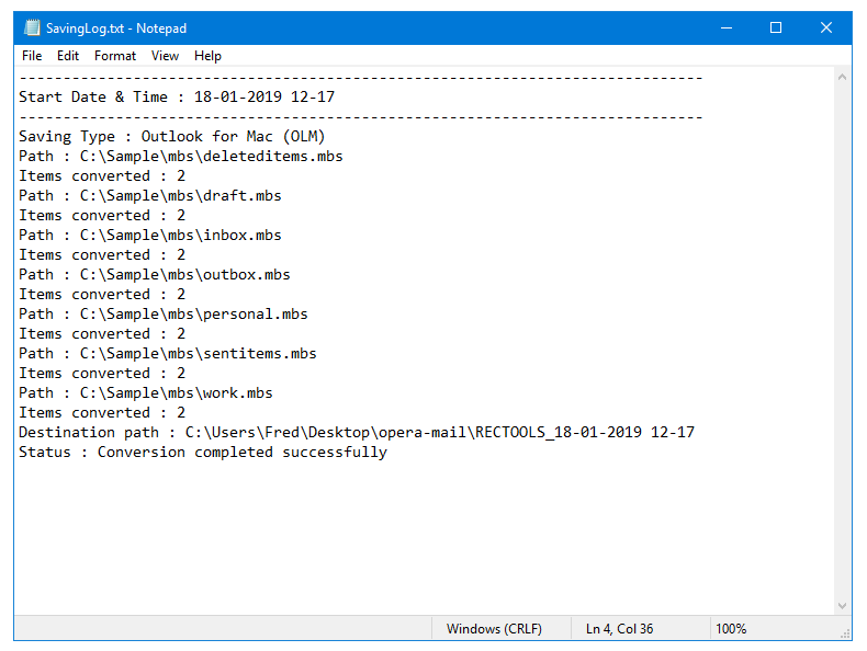 opera mail to olm converter