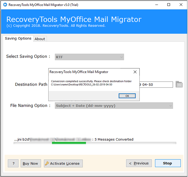 MyOffice Mail to RTF