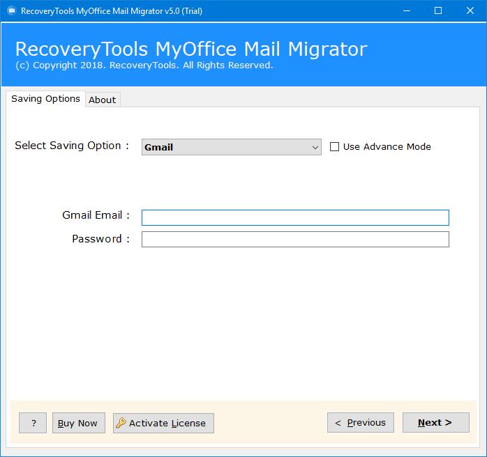 myoffice to gmail
