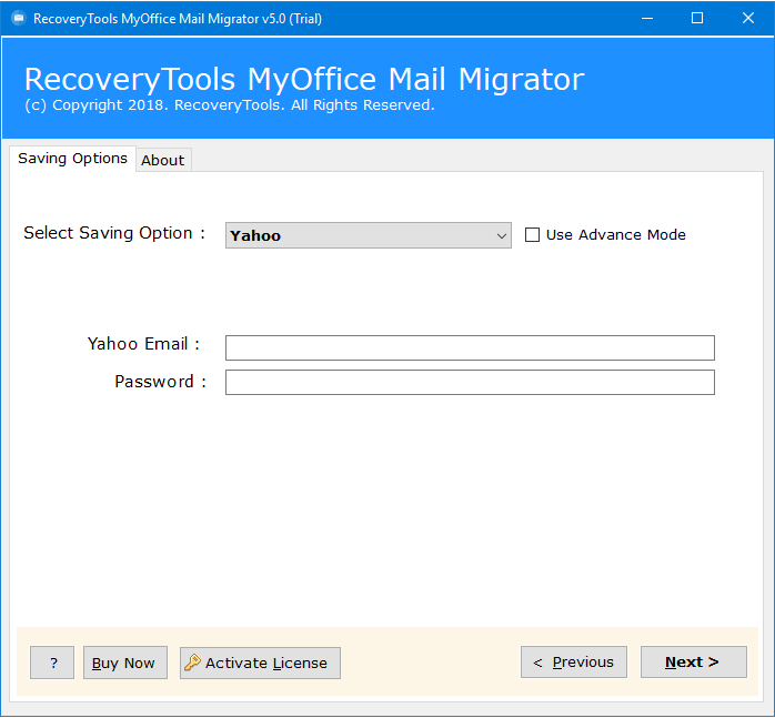 myoffice почта для Yahoo