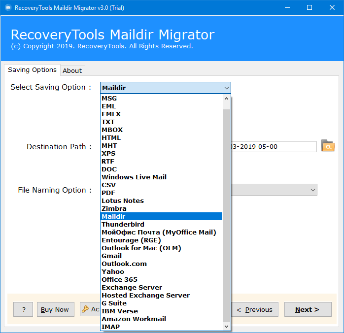 migrate courier to dovecot