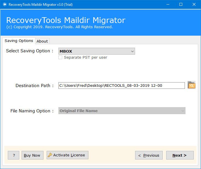 maildir to mbox converter