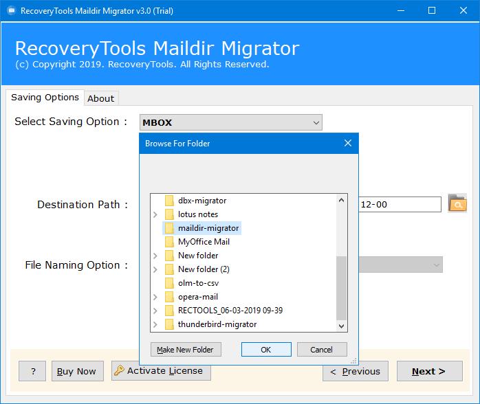 maildir to mbox windows