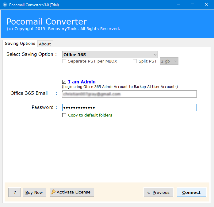 How to Import Pocomail to Office 365 & Pocomail to Exchange