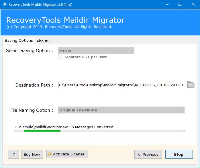 convert maildir to mbox