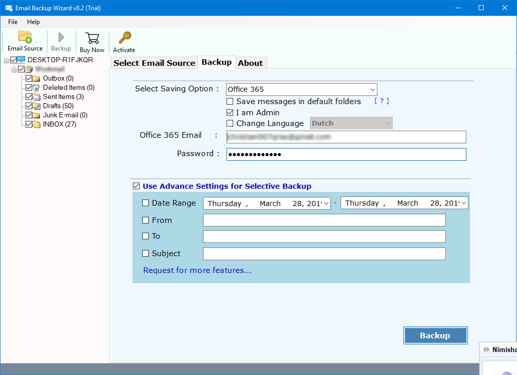 mdaemon cloud emails to office 365