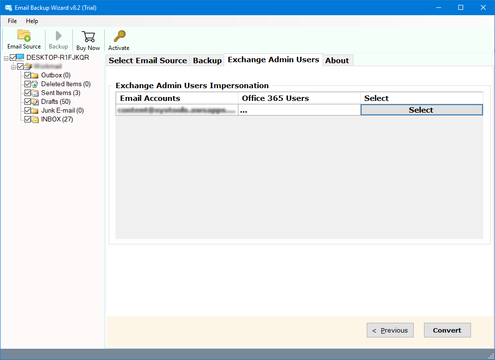mdaemon cloud emails to hosted exchange server
