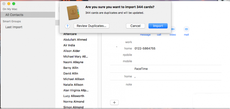 Import Excel Contacts to Outlook Mac 2019, 2016 & 2011 Quickly