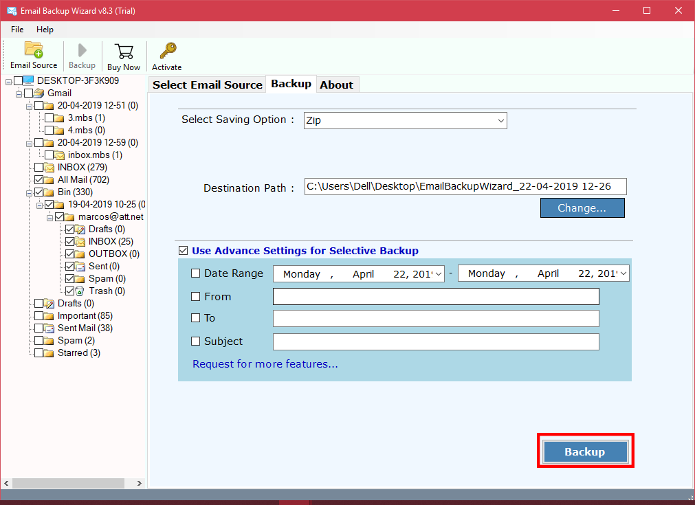 Gmail Export to Zip Converter Tool- A Quick & Accurate Solution to