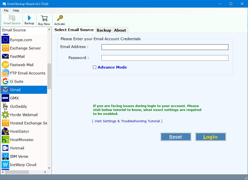 gmail to icloud