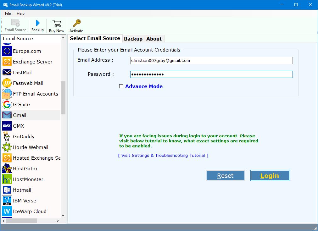 forward gmail to icloud