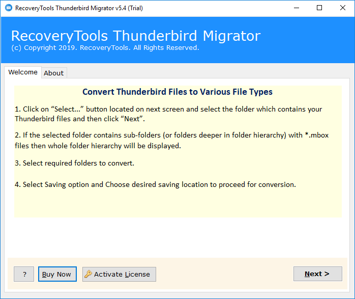 Recover emails after a Thunderbird crash