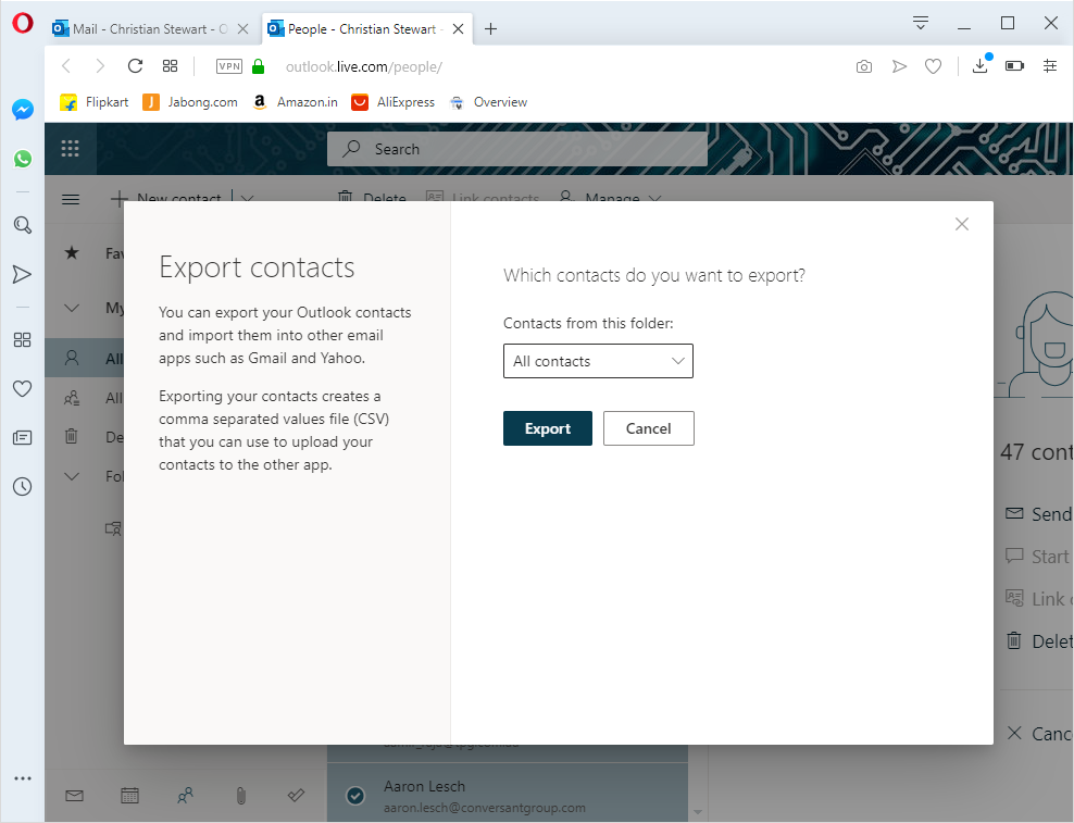 How to Import Office 365 Contacts to Outlook for Mac (OLM) | 4 Step Plan