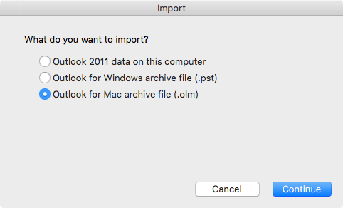 export office 365 contacts to outlook for mac