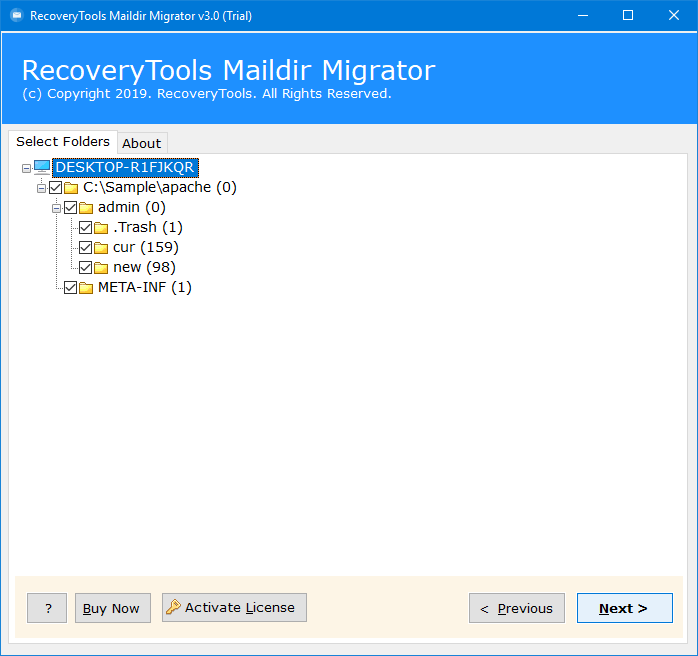 migrate Apache James to Outlook