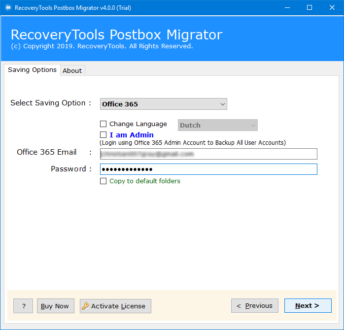postbox to outlook.com