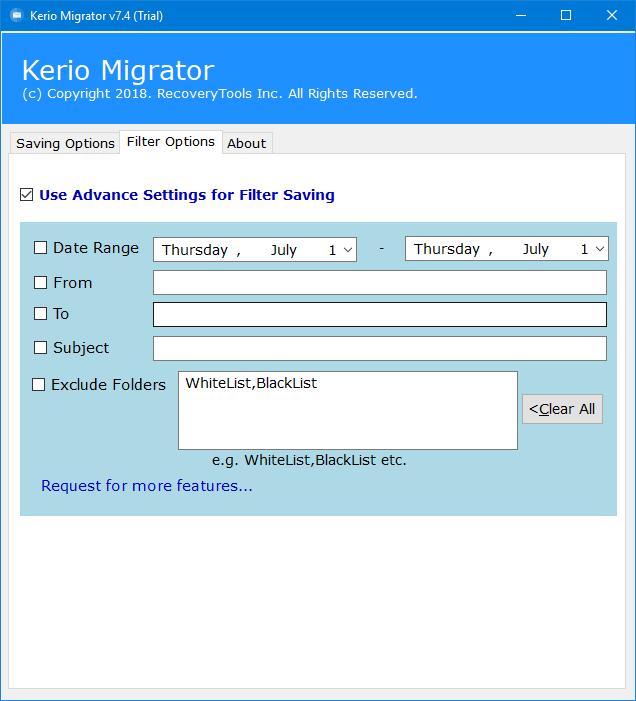 import kerio emails to icewarp