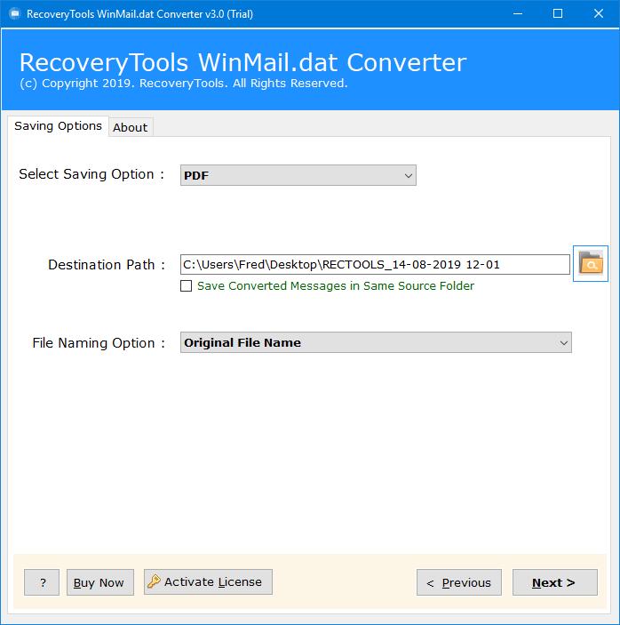 winmail.dat to pdf converter