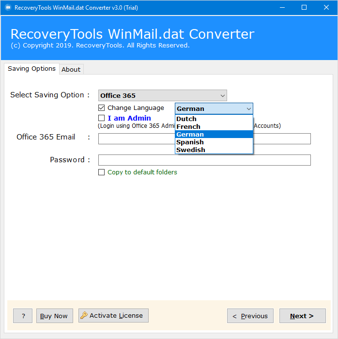 winmail.dat to office 365 fix