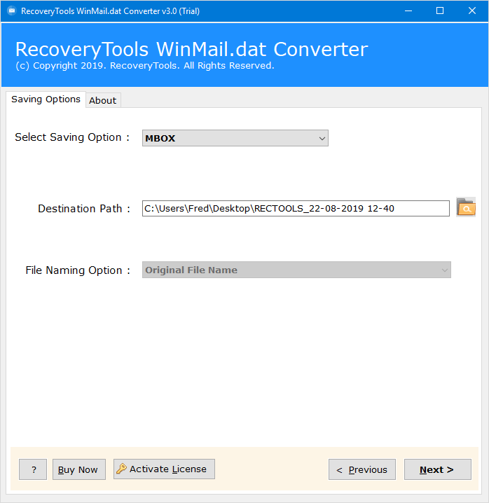 winmail.dat to mbox converter
