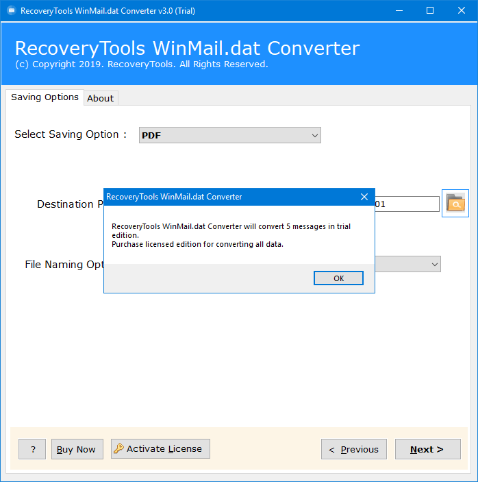 convert winmail.dat to pdf free