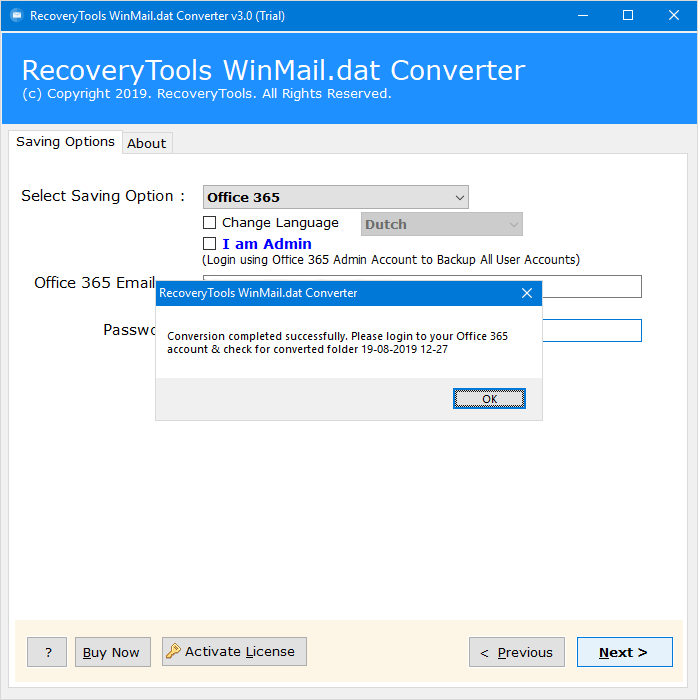 winmail.dat to exchange & office 365