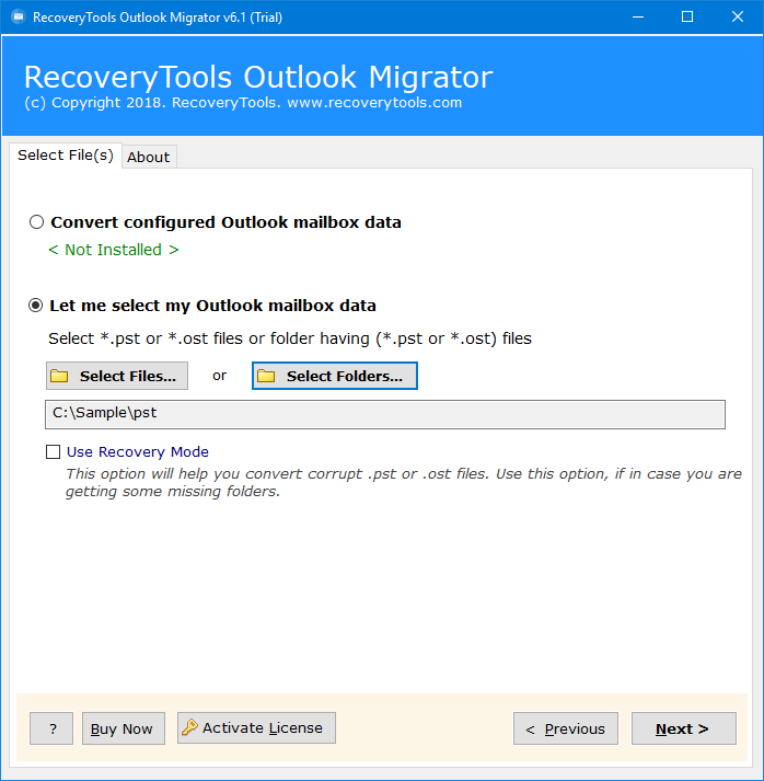 outlook to mdaemon